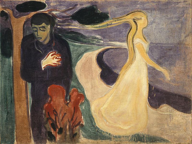 Мунк. Расставание (1896)