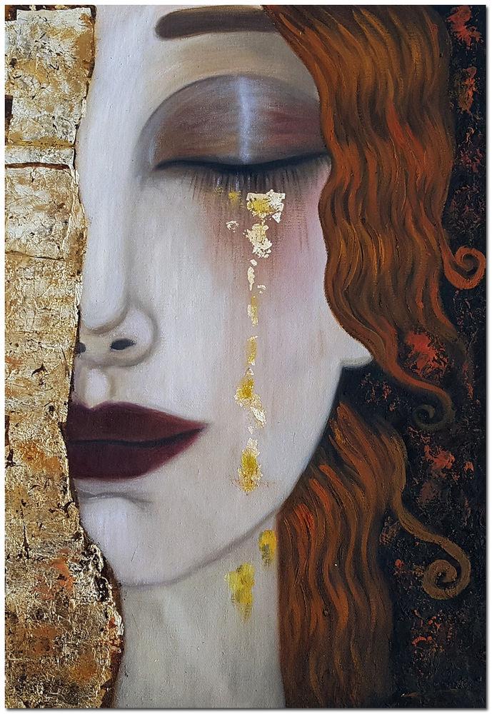 Густав Климт, Золотые слёзы